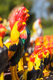 Chicken statue thailand Stock Image