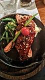 Chicken steak stock photos