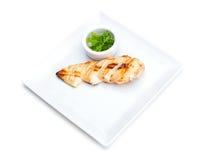 Chicken steak Royalty Free Stock Image