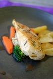 Chicken Steak Royalty Free Stock Photo