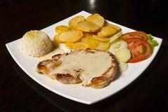 Chicken Steak Portion stock photography