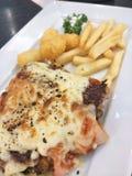 Chicken Steak set Royalty Free Stock Photos