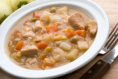 Chicken stew royalty free stock image