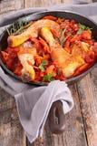 Chicken stew Stock Image