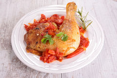 Chicken stew Stock Images
