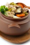 Chicken Stew in Pot Royalty Free Stock Photo