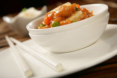 Chicken stew with vegetables Stock Images