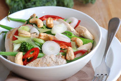 Chicken Stir Fry Royalty Free Stock Photos
