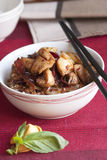Chicken stir-fry Stock Photography