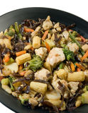 Chicken stir fry Royalty Free Stock Image