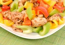 Chicken Stir Fry Royalty Free Stock Image