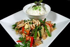 Chicken Stirfry 3 Royalty Free Stock Photography