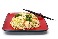 Chicken Stirfry Royalty Free Stock Image
