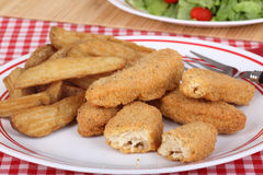 Chicken Strip Supper Royalty Free Stock Image