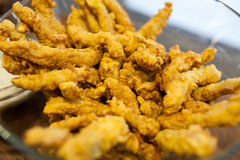 Chicken strips Stock Image