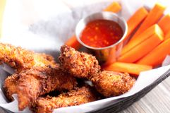Chicken strips Royalty Free Stock Images