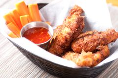 Chicken strips Stock Photography