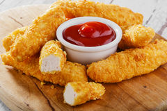 Chicken stripsy  Stock Images