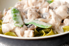 Chicken stroganoff Stock Photo