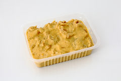 Chicken stroganoff package Stock Images