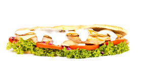 Chicken sub Stock Photo