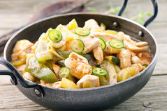 Chicken Sweet Sour Royalty Free Stock Images