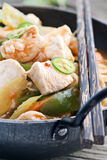 Chicken Sweet Sour Stock Photo