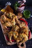 Chicken tabaka royalty free stock photo