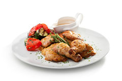 Chicken Tabaka Royalty Free Stock Photos