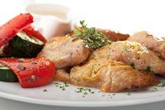 Chicken Tabaka Stock Photo