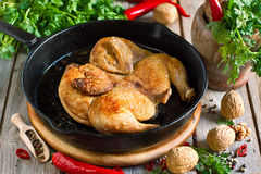 Chicken tabaka Royalty Free Stock Photos