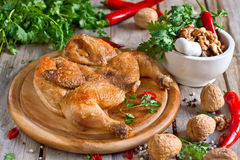 Chicken tabaka Royalty Free Stock Images