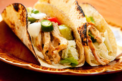 Chicken Taco Royalty Free Stock Images