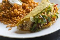 Chicken Taco Royalty Free Stock Photos