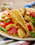 Chicken taco Royalty Free Stock Photography