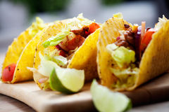 Free Chicken Tacos Royalty Free Stock Image - 66437976