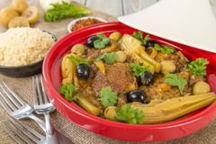 Chicken Tagine Stock Photos