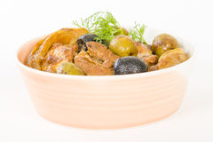Chicken Tagine Stock Images