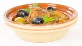 Chicken Tagine Royalty Free Stock Photo