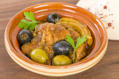 Chicken Tagine Stock Image