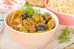 Chicken Tagine Stock Photography