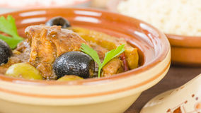 Chicken Tagine Royalty Free Stock Photos