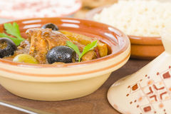Chicken Tagine Royalty Free Stock Images