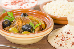 Chicken Tagine Royalty Free Stock Image