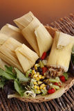 Chicken tamale Stock Photos