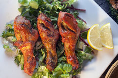 Chicken tandoori Royalty Free Stock Images