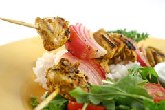 Chicken Tandoori Skewers 2 Stock Photos