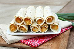 Free Chicken Taquitos Royalty Free Stock Image - 25297346