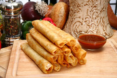 Chicken Taquitos Royalty Free Stock Image