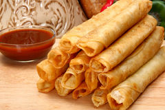 Free Chicken Taquitos Stock Image - 5484401